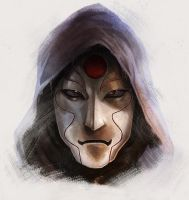 Legend of Korra: Amon by pinkhavok
