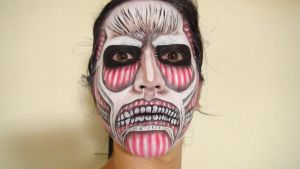 - Attack on Titan - Makeup2 by KisaMake