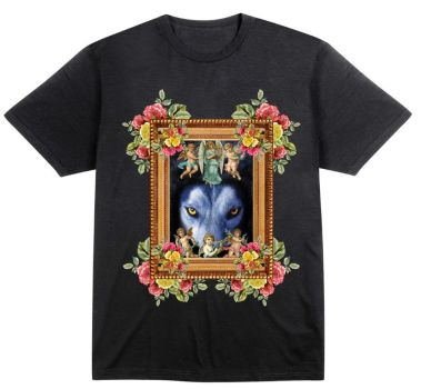 baroque style tee by bluebernini