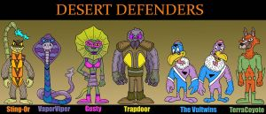 The Desert Defenders by Lordwormm