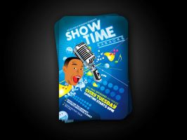 Showtime Karaoke flyer v2 by artofmarc