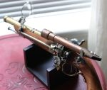 Steampunk Flintlock Closeup by Frijoleluna
