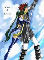 Linalee and Lavi ...again xD by Lynnnn