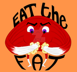 Eat the fat - Muscle Mantra by shatterheart