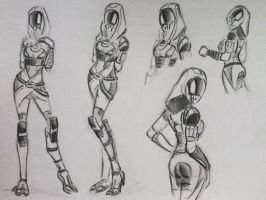 sketches Tali (61) by spaceMAXmarine