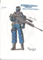 Blackmore British Commando - Sniper by BlackKnife12