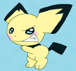 Evil Pichu by WithoutInspiration