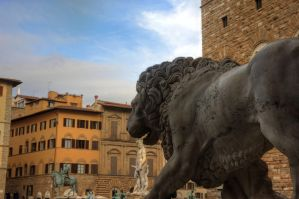 Neptune and the Lion by LPeregrinus