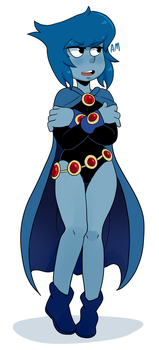 Lapis as Raven by AngeliccMadness