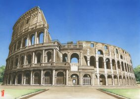 COLOSSEUM by toniart57