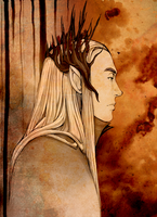 Thranduil by DalishTook