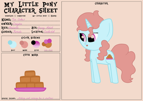Tea Cakes Reference Sheet by Cragzu