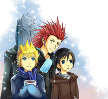 KH: Let it Snow by rubyd