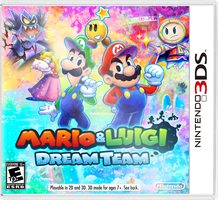 Mario and Luigi: Dream Team by Fawfulthegreat64