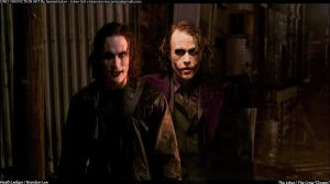Clowns V2 - The Joker / The Crow by SexiestJoker