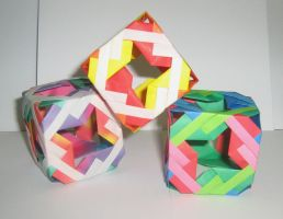some cube by origami-maniac