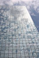 Glass and Clouds by muskeg-stock