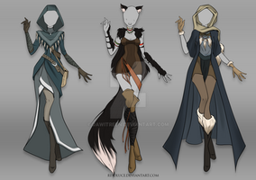 (CLOSED) Adoptable Outfit Auction 34-36 by Risoluce
