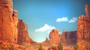 Rochard Wallpaper - Arizona Scene by StMan
