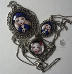 Jewelry with my drawings by NImFpa