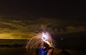 Spark so bright, spin into light by BMC-Photography