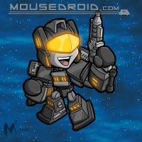 Commission - Mouse droid by MattMoylan