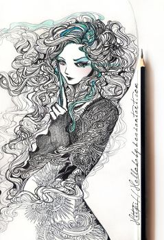 Bellatrix Lestrange by Hellobaby