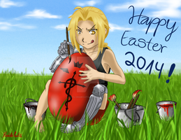 Happy Easter 2014! :D by FlorideCuts