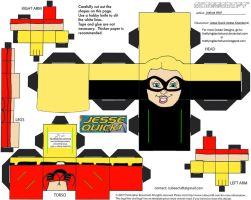 DC SH16: Jesse Quick Cubee by TheFlyingDachshund