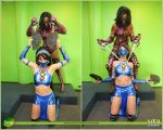 Mileena Finish Her! by thetenten16