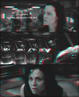 3D anaglyph movie Alien Resurrection by gogu1234