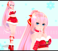 MMD TDA Santa Luka Download by CrazyMoonChan