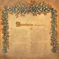 Book of Shadows, Samhain by Brightstone