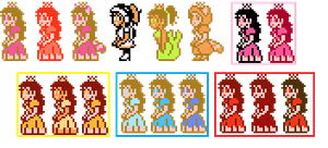 SMB3: Peach Reference Sheet by SirPeaches