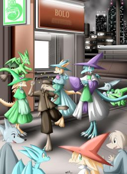Hypnosis Show 3 by PachinkoLemmings