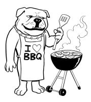 BBQ Bulldog by SethWolfshorndl
