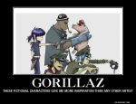 Gorillaz by ShadowDragon117