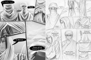 24HCD - The Desert Pirate, Act II, Pages 3+4 by Kataoi