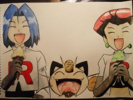 Team Rocket and ICE CREAMZ by Destroma