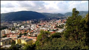 View over Graz from Schlossberg-002 by Charmadige