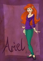 DisneyBound: Ariel by Tella-in-SA