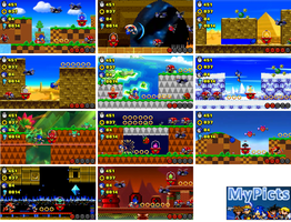 Sonic Lost World levels by MyPicts