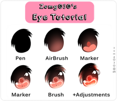 Eye Tutorial  eAe by zomgO3O