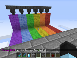 Rainbow Factory in Minecraft. (WIP) by xXIceblastofRCXx