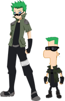 2nd dimension ferb by jojorules911