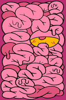 Drop Dead Intestine iPod Touch Wallpaper by AskingMyValentine