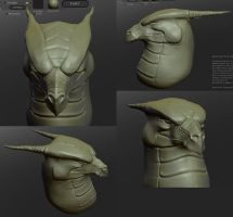 sculptris dragon by lcbeers2