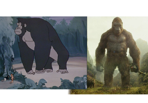 Kong: Before and After by Crossovercomic