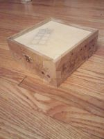 Doctor Who Wooden Box by snowtigra