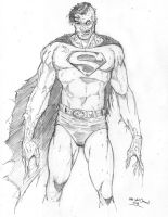 Zombie Superman by MikeVanOrden